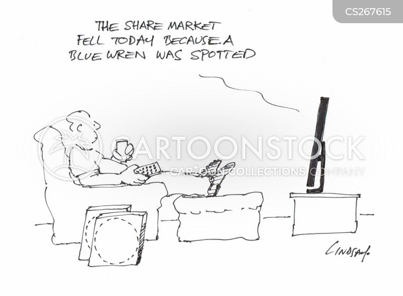 blue wren cartoon