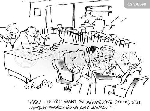 munitions companies cartoon