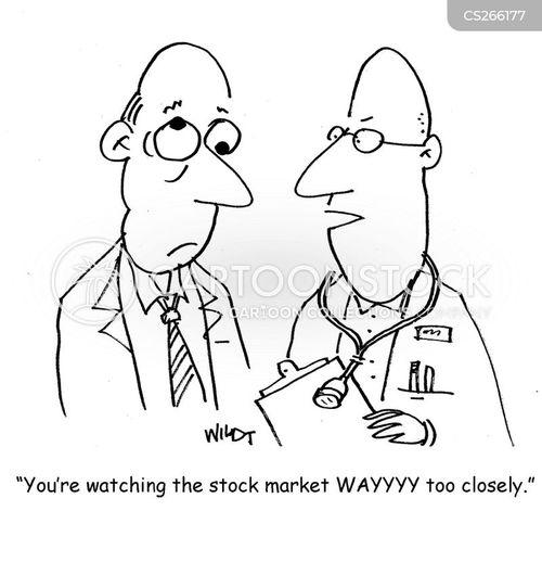 market crises cartoon
