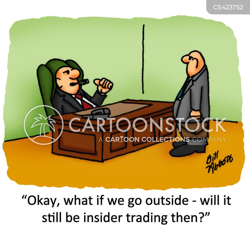 insider trading Insider trading is a federal crime, but an odd one.