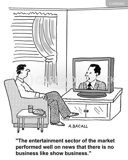entertainment sector cartoon