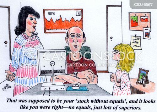 daytrader cartoon