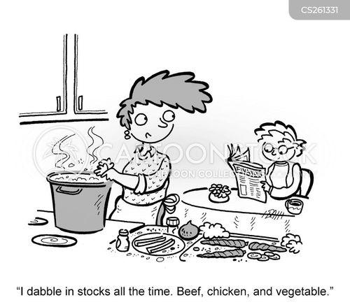beef stock cartoon