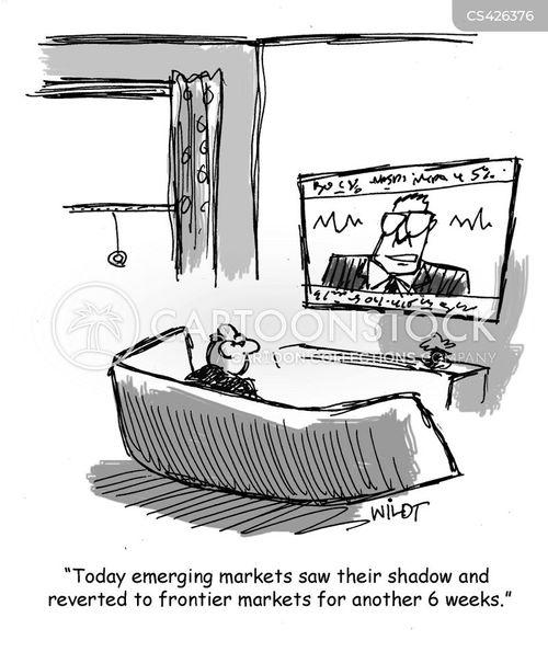 emerging cartoon