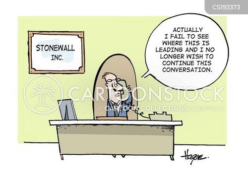 conversational cartoon