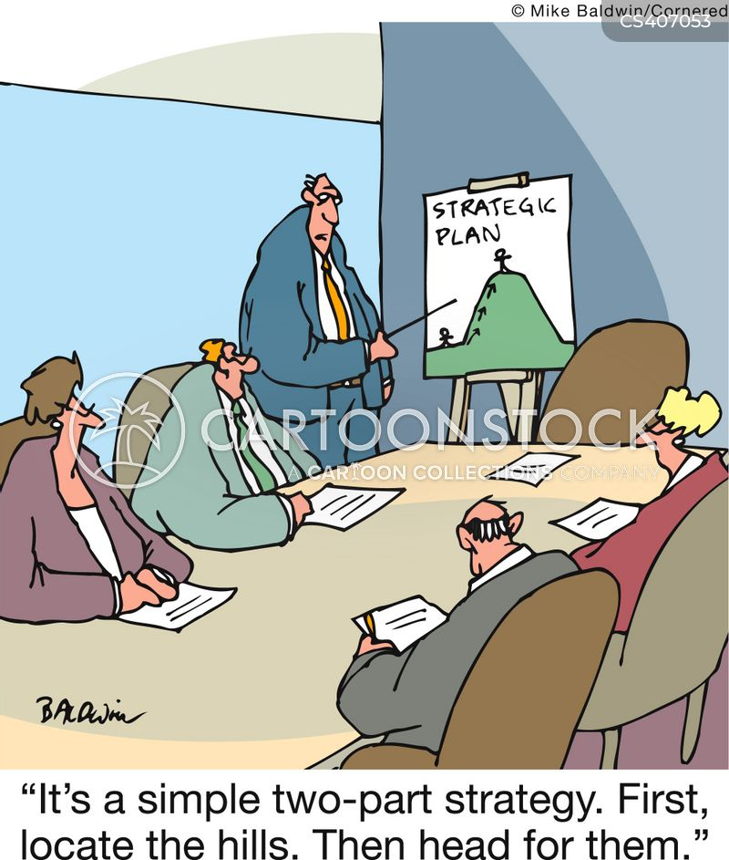 Head For The Hills Cartoons and Comics - funny pictures from CartoonStock