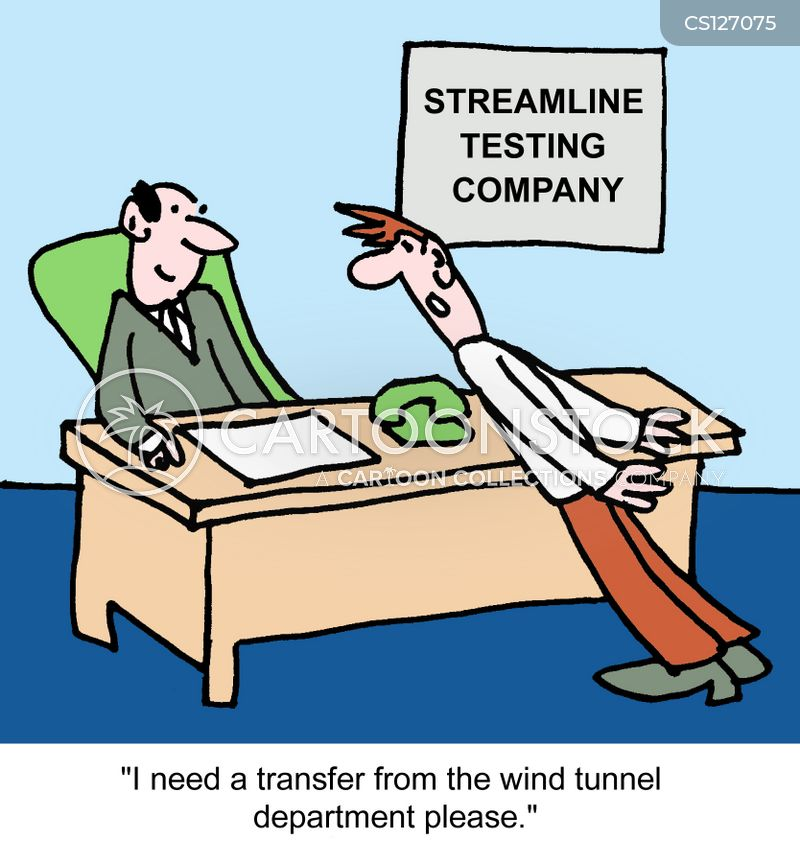 streamline cartoon
