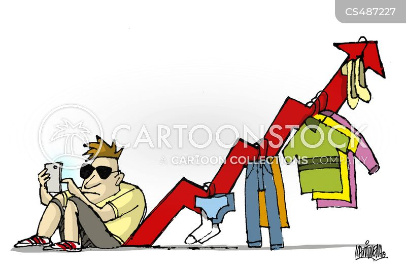 designer fashion cartoon