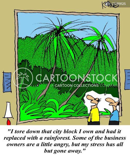 city block cartoon