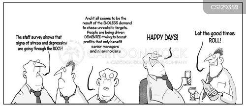 stress management cartoon