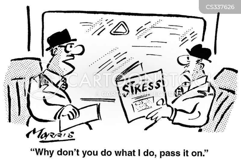 work management cartoon