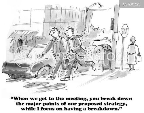 mental breakdown cartoon
