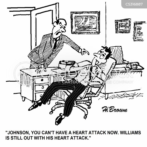 cardiac arrests cartoon