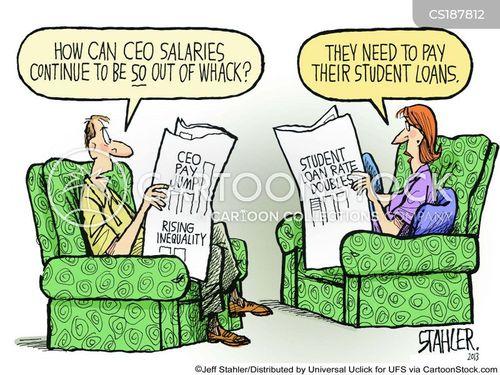 student debts cartoon