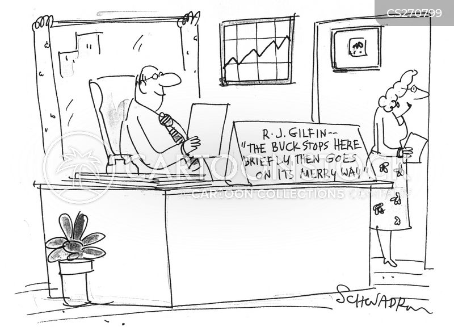 the buck stops here cartoon