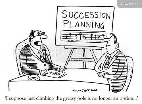 succession cartoon
