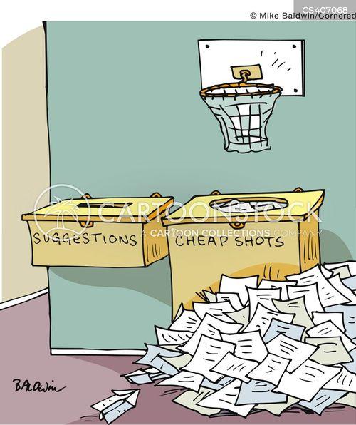 armchair critic cartoon