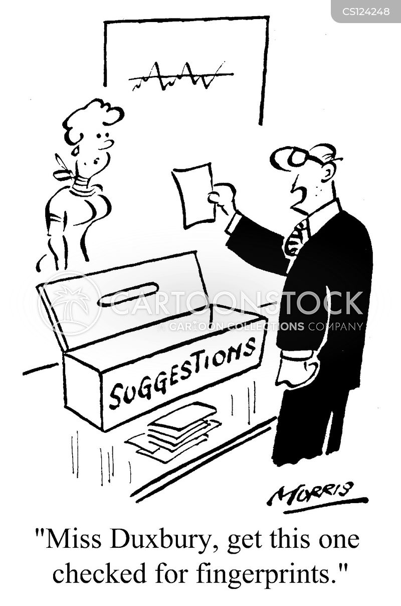 anonymous suggestions cartoon