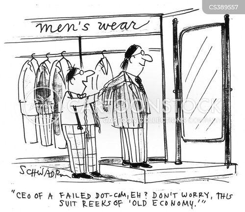failed dot com cartoon