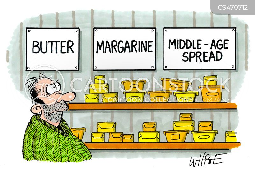low-fat spread cartoon
