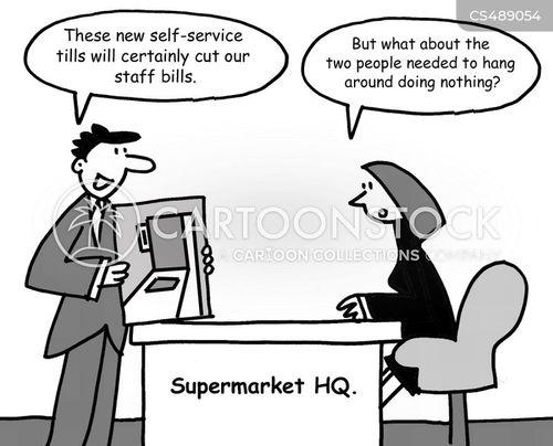 super-markets cartoon