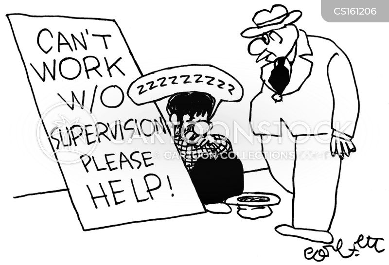 supervisions cartoon