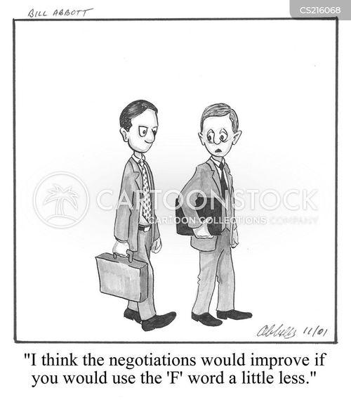f word cartoon