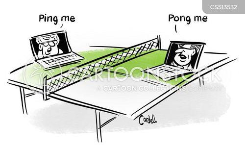pong cartoon