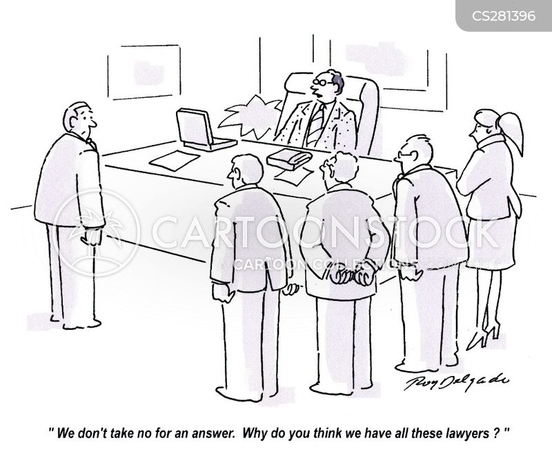 take no for an answer cartoon