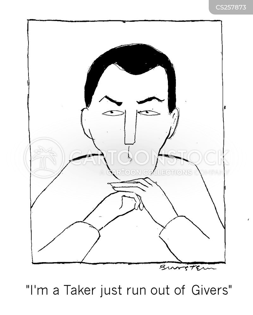 taker cartoon
