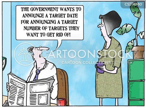 government targets cartoon