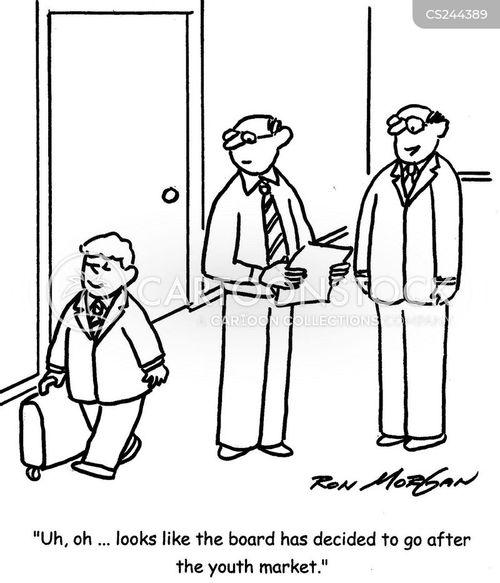 target market cartoon