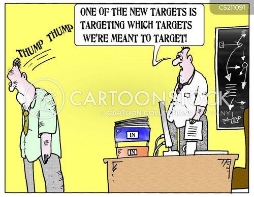 targetting cartoon