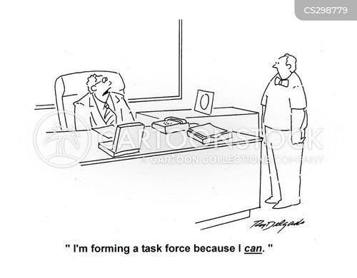 task forces cartoon