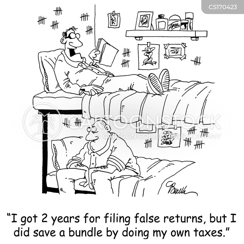tax evasion cartoon