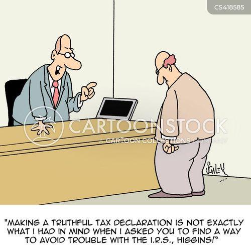 finance managers cartoon
