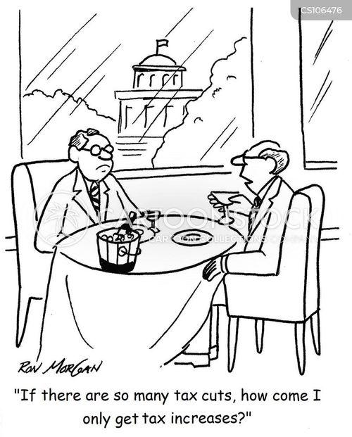 tax-cut cartoon