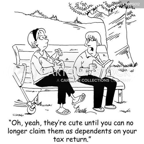 dependants cartoon