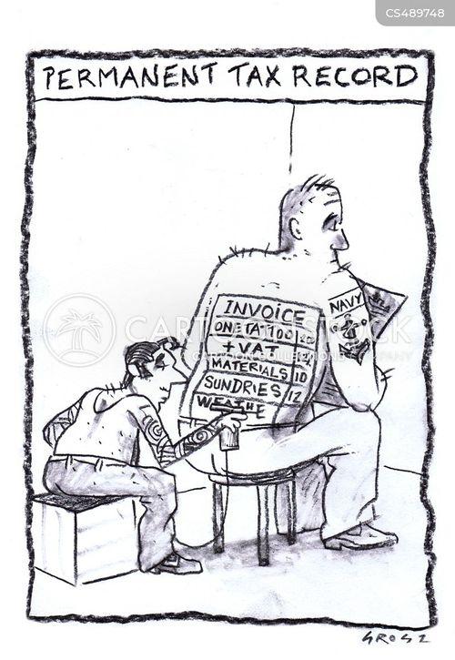 tax assessment cartoon