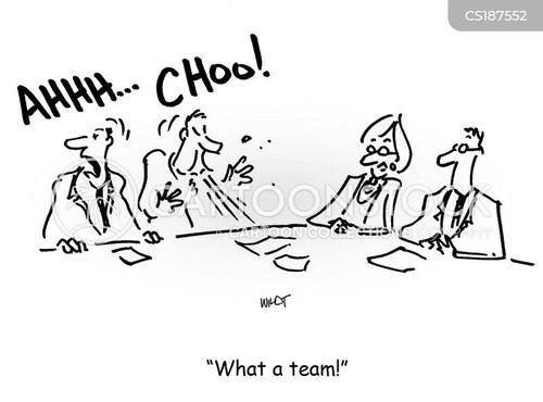 cooperation cartoon