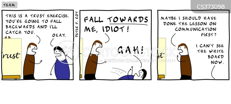 Team-builders Cartoons and Comics - funny pictures from ...