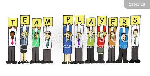 team efforts cartoon