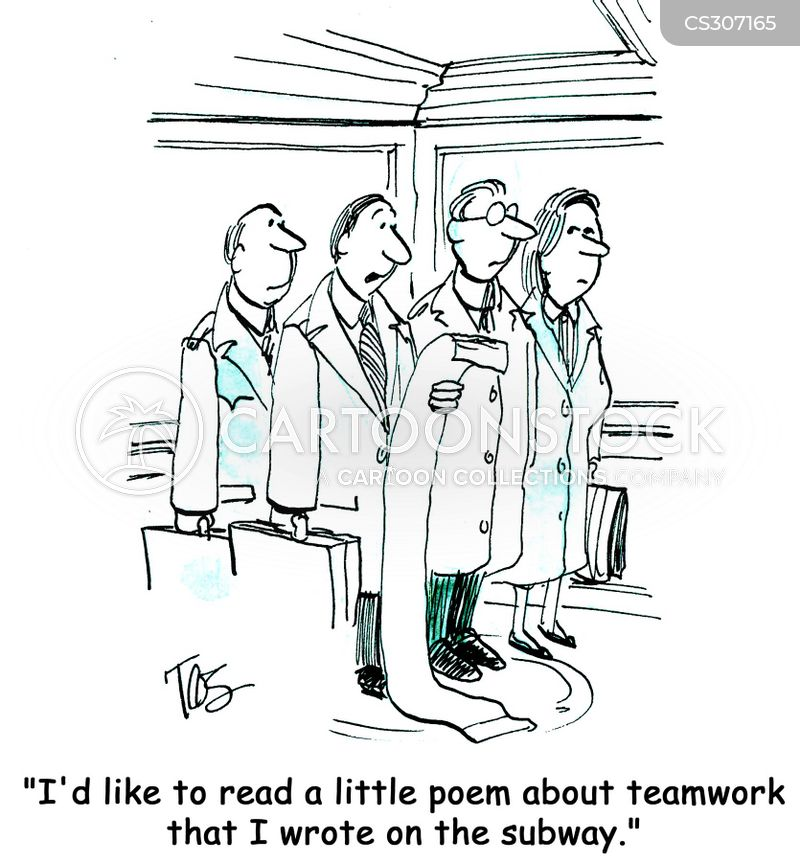 Poems On The Underground Cartoons and Comics - funny pictures from ...