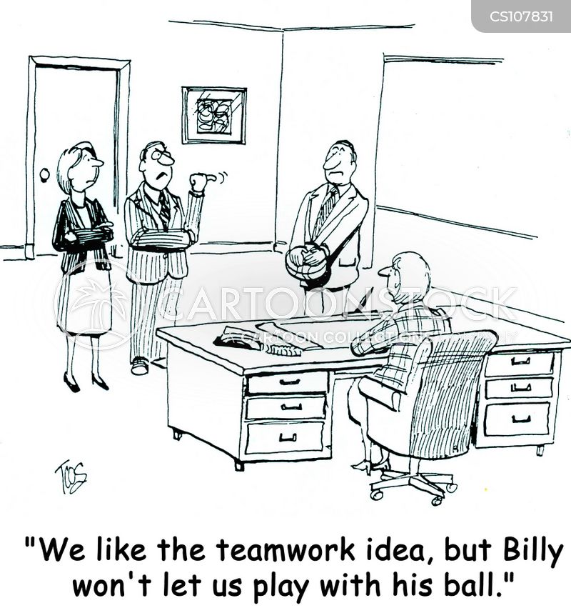 Team Dynamics Cartoons And Comics Funny Pictures From Cartoonstock