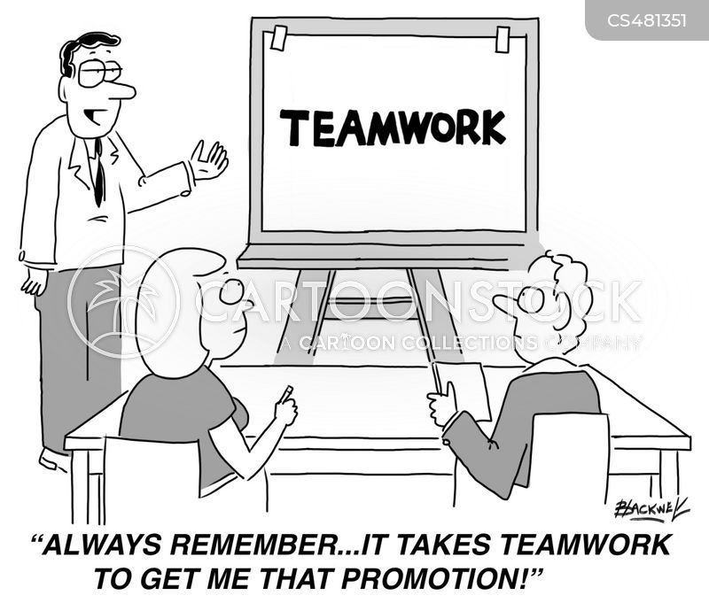 Common Goal Cartoons and Comics - funny pictures from