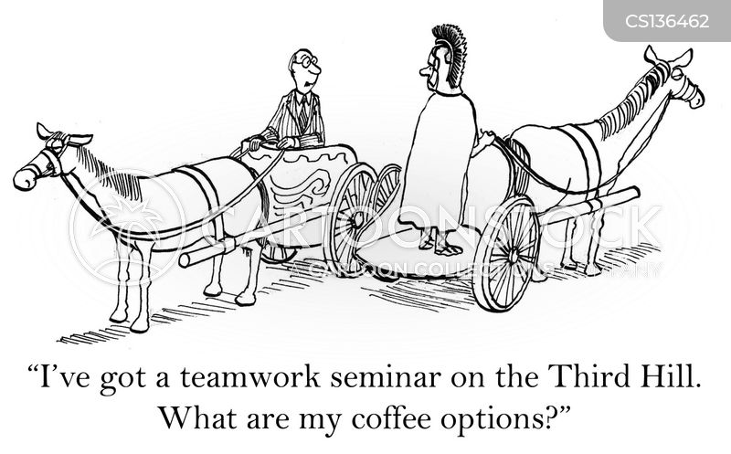 Teamwork Seminar Cartoons And Comics Funny Pictures From Cartoonstock