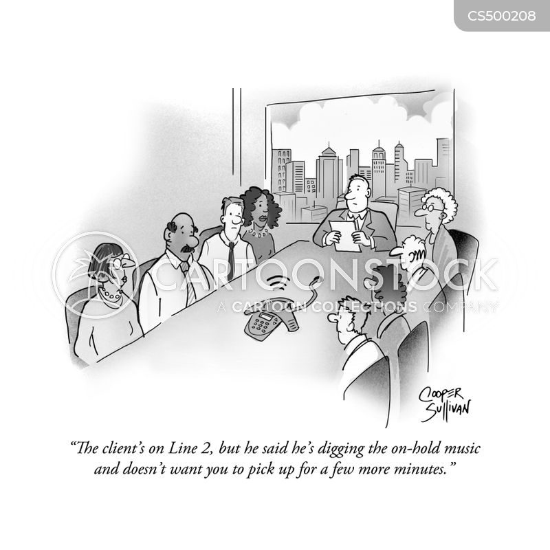 hold-music cartoon