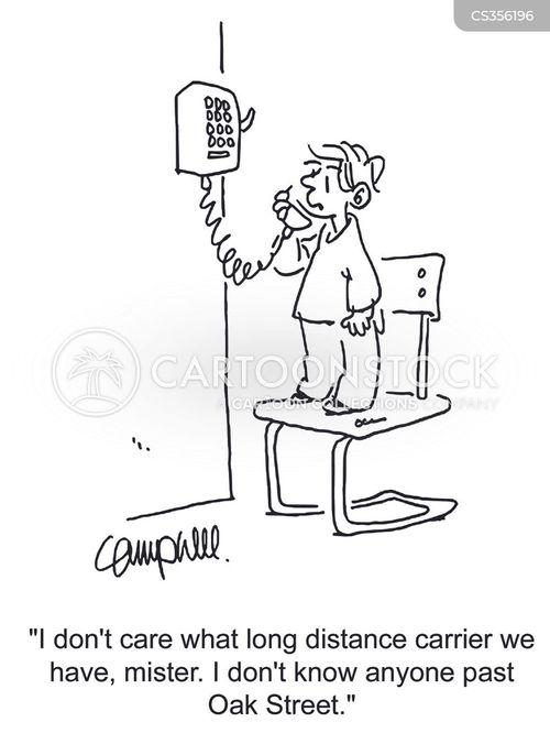 telephone company cartoon