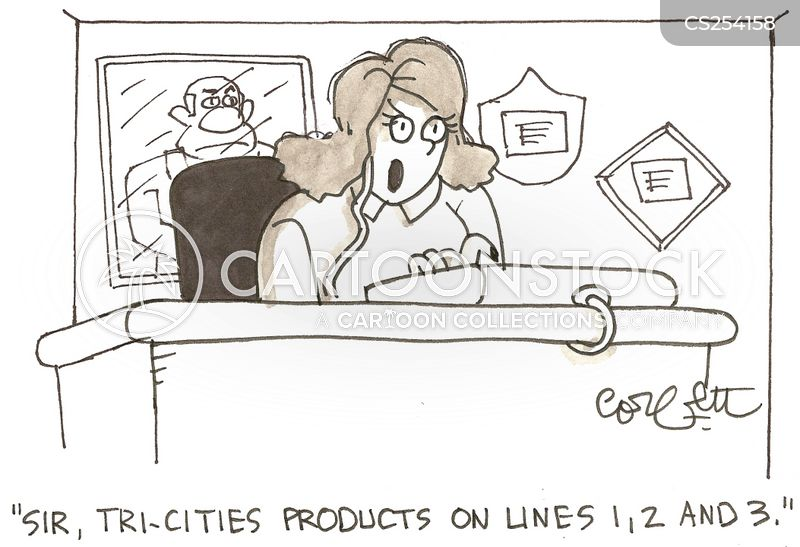 telephone line cartoon