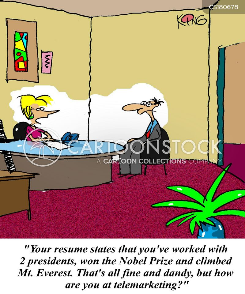 telemarketing cartoons and comics